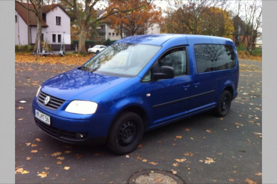 VW Caddy Maxi 1,9 TDI Blue Line